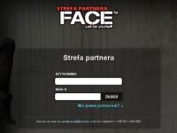 """Aplikacja internetowa """"Strefa partnera"""" - logowanie"""